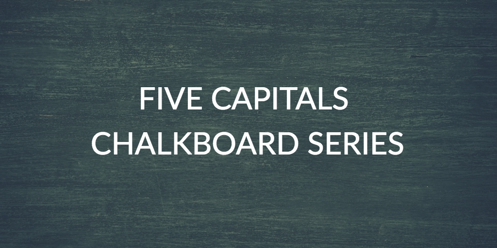 Five Capitals Chalkboard Series